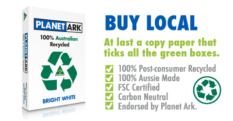 Buy Planet Ark Recycled Copy Paper from Eco Office