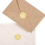 C6 - Pack of 25 - Elephant Dung Paper - Recycled Envelopes - 114 x 162mm