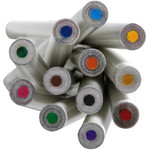 Coloured Pencil Set - Recycled - White - Set of 12 in cardboard box