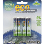 Eco Alkalines - AAA Batteries