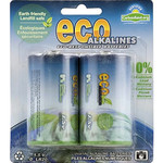 Eco Alkalines - D Batteries