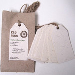 Elephant Dung Paper - Plain Swing Tags - Pack of 8