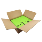 Compostable Bin Liners - Green - Carton
